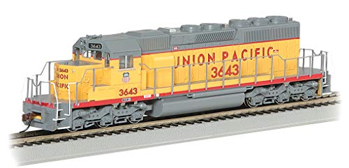 EMD SD40-2 Dcc Ready Diesel Locomotive Union Pacific #3643 - HO Scale