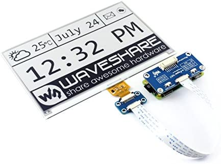 Waveshare 7 5inch E Ink Display HAT for Raspberry Pi 800 480 Resolution with Embedded Controller product image