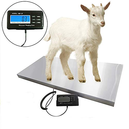 N\\A Equipo de pesaje Digital de báscula Veterinaria/báscula de Ganado, para Cabras/ovejas/Cerdos/Perros/Gatos o Mascotas