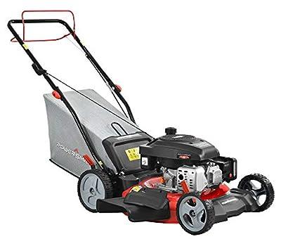 PowerSmart DB2321SR Gas Push Lawn Mower, Red/Black