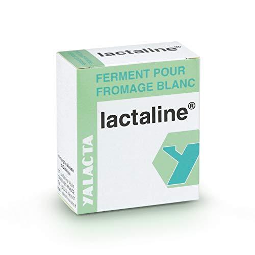 Yalacta - Ferment pour Fromage Blanc Lactaline - Boîte de 6 Sachets