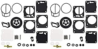 New Carb Rebuild Repair Kit Fit for Yamaha VXR Wave Blaster Wave Raider XL700 XL760 Pack of 2