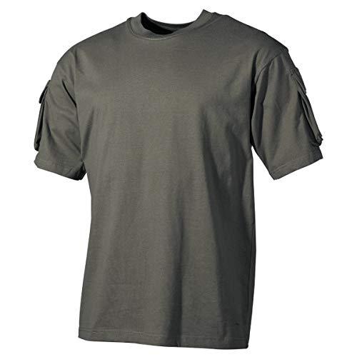 MFH US Army T-Shirt avec Poche de Manches (Olive/S)