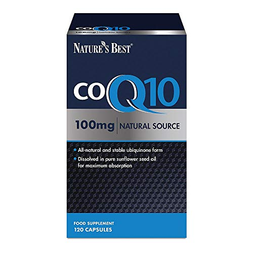 Co Enzyme Q10 [CoQ10] 100mg (Ubiquinone) – 120 Capsules - One-a-Day – 4 Month's Supply - High Potency – Natural Source – Easy, Fast Absorption – High Strength - UK Made