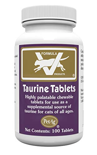 Top 10 best selling list for best taurine supplements for cats