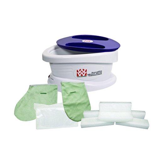 WaxWel - 11-1605 Waxwel Paraffin Wax Bath Unit w/Citrus Kit: Includes 6 lb Citrus Wax, 100 Liners, 1 Mitt, 1 Bootie