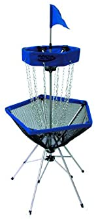 Innova DISCatcher Traveler Target – Portable, Lightweight Disc Golf Basket, Colors May Vary