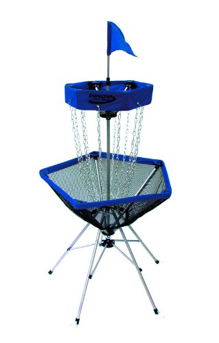 Innova DISCatcher Traveler Target – Portable, Lightweight Disc Golf Basket, Colors May Vary, Blue