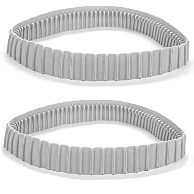 TonGass (2 Pack) Replacement Gray Tracks for Maytronics Dolphin Robotic Pool Cleaners with Part Number 9983152-R2 Dolphin Parts