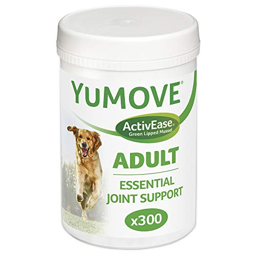 Lintbells | YuMOVE Adult Dog | Essential Hip and Joint Supplement for Stiff Dogs | Aged 5 to 7 | 300 Tablets
