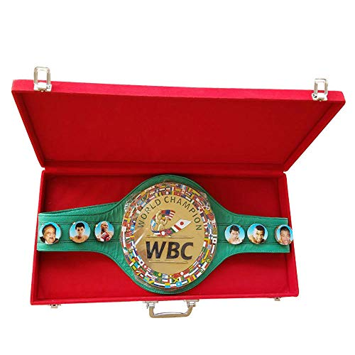 WBC Championship Boxing Belt 3D Real Leather Adult with Box/case