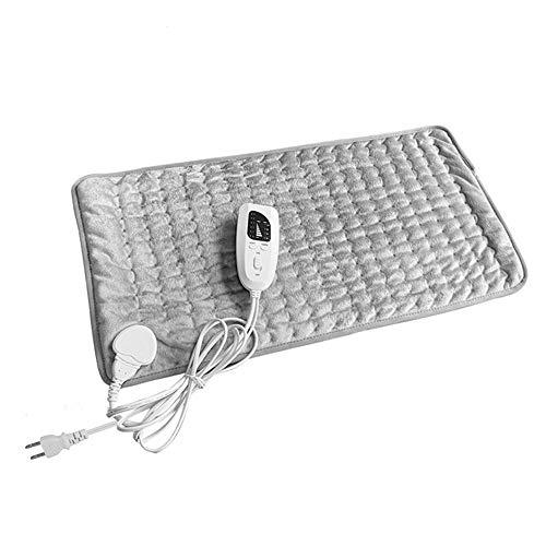 Xiaolan Almohadilla de calefacción, almohadilla eléctrica LED, manta eléctrica pequeña, 60 x...