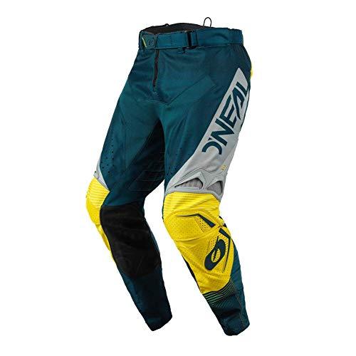 O'NEAL | Motocross-Hose | Enduro Motorrad | Stromlinienförmiges und leichtes Design, Luftdurchlässiges Mesh-Innenfutter| Hardwear Pants Surge | Erwachsene | Blau Grau | Größe 32/48