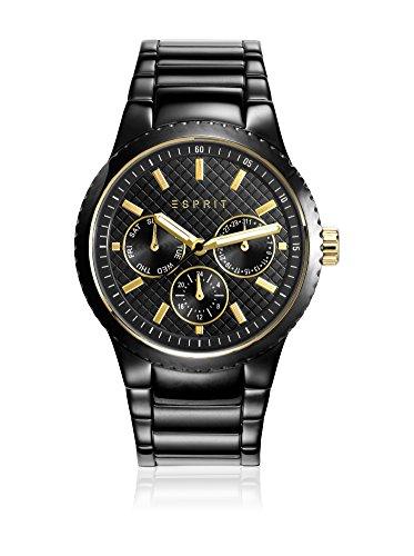 Esprit horloge met Japans uurwerk Woman zwart 38 mm