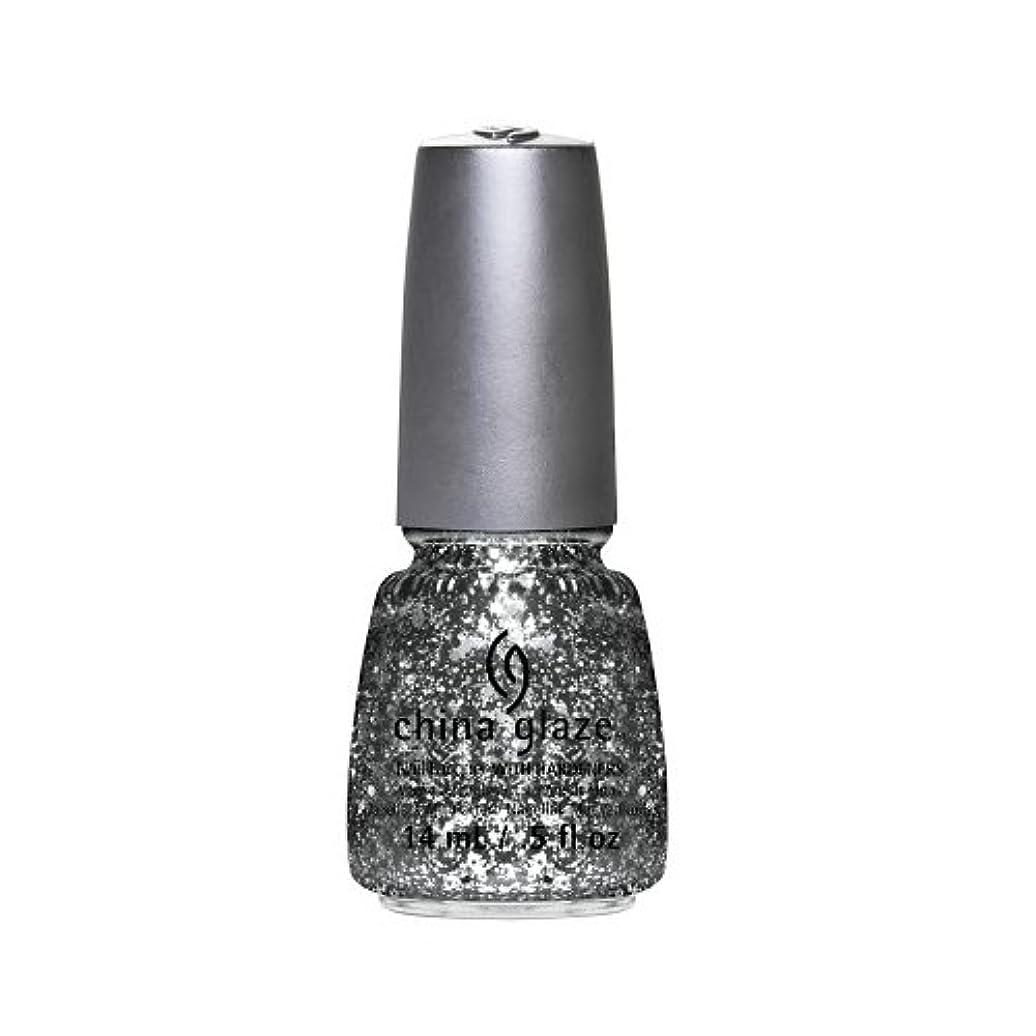 部門生物学コマース(6 Pack) CHINA GLAZE Nail Lacquer - Glitz Bitz ?n Pieces Collection - Gltz'n Pieces (並行輸入品)