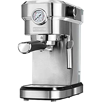 MPM MKW-08M Cafetera Express 20 Bares, para Realizar café Espresso ...