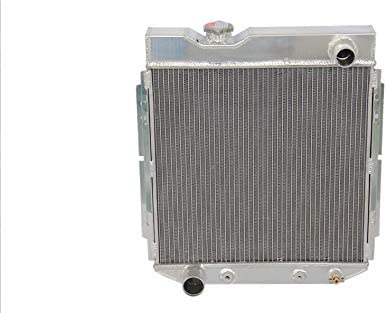 3 Row Regular dealer Aluminum Radiator Recommendation Fit Econoline Ford Falcon Mustang 61-65