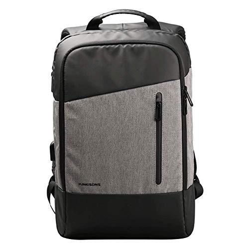 15,6-inch laptop reisrugzak, waterdichte ultra-dunne zakelijke rugzak met USB-oplaadpoort, college reizen recreatieve rugzak
