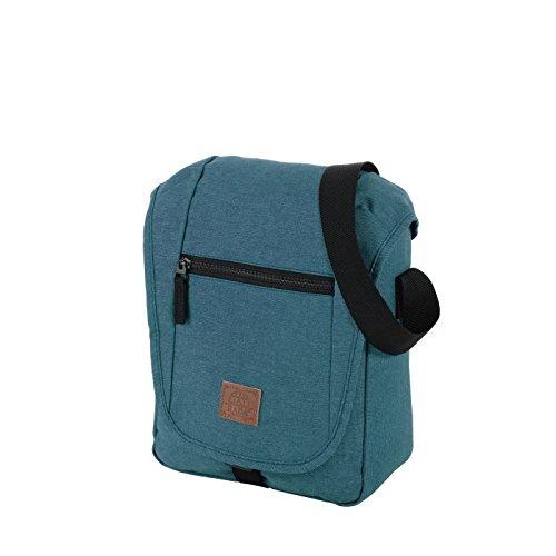 Rada Umhängetasche, mit Tablet-Fach bis 10.1 Zoll, Schultertasche, wasserabweisend und robust, Überschlagtasche, Trageriemen gepolstert, Damen und Herren (versch. Farben)