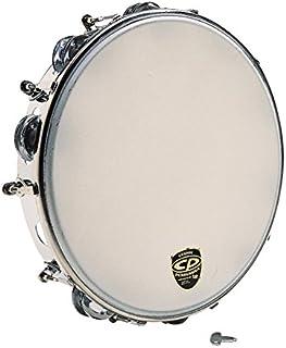 """CP392 10 """"Tambourine قابل تنظیم ، فلز"""