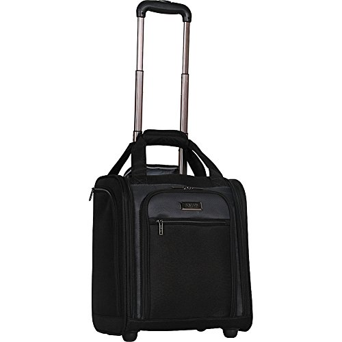 Kenneth Cole Reaction Excursion 2.0 16' 1200d Polyester 2-Wheel Underseater Carry-on, Black
