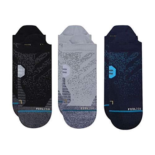 Stance Men's Run Tab ST 3-Pack Socks (Multi, Medium)