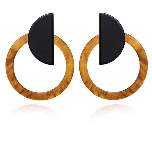 ASDFG Ohrringe Geometrische, Rechteckige Ohrringe, Damengeschenke, Herbst- Und Winteraccessoires