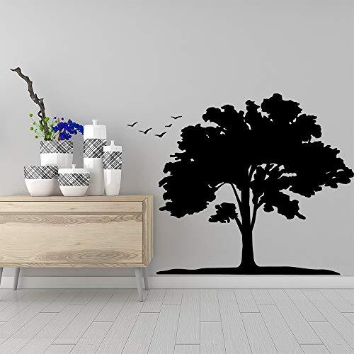 Yaonuli muursticker boom kleurrijk vinyl behang woonkamer decoratie kantoor decoratie sticker