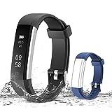 Muzili Activity Tracker, Bluetooth - Black,Blue