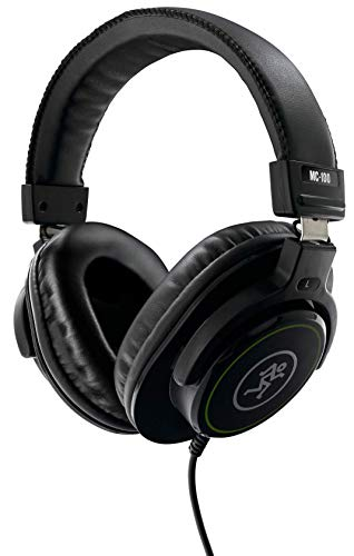 Mackie MC-100 Wired Over-ear Closed-back Studio Pro Monitor DJ PC Home...