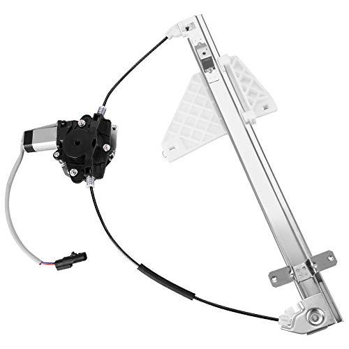 YITAMOTOR Rear Driver Side Power Window Regulator w/Motor Compatible with Jeep Grand Cherokee 2001-2004