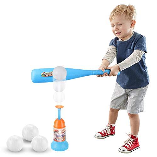 Joyibay Kinder Baseball Spielzeug Ausbildung Automatischer Launcher Baseball Schläger Spielzeug (Zufällige Farbe)