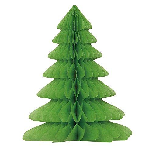 Unique Party - Decoración Navideña - 30 cm - Diseño del árbol de Navidad del Panal (63548)