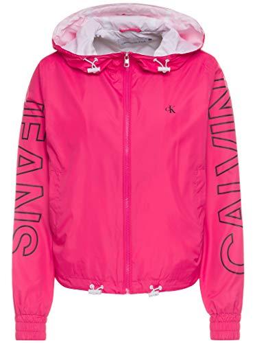 Calvin Klein Jeans Giacca a Vento con Logo a Contrasto (XS)