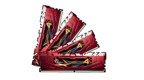 G.Skill F4-2400C15Q-16GRR Arbeitsspeicher 16GB (4X 4GB, 288-polig, CL15) DDR4-RAM Kit