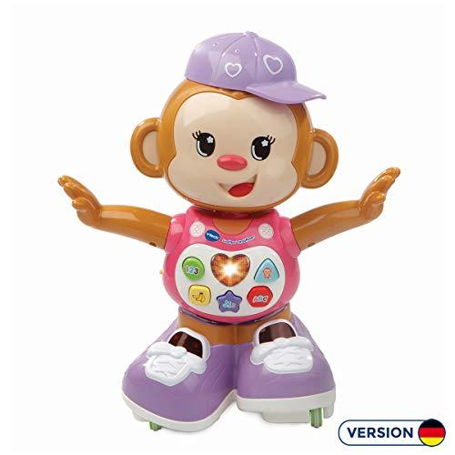 VTech Baby Lustiges Tanzaeffchen rosa Babyspielzeug, Normalverpackung, bunt