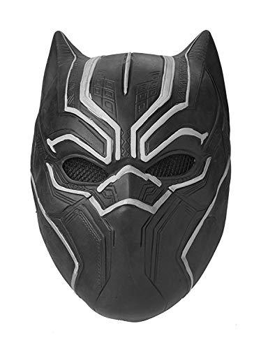 ASVP Shop Zwarte Panter Masker Marvel Superhero Cosplay Latex Party Masker Halloween