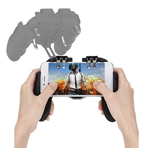 Kafuty Mobile Game Controller PUBG Mobile Controller Joystick Remote Grip Shooting Cellulare Gamepad Accessori con Ventola di Raffreddamento Meccanica Keystroke Feel