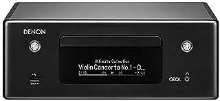 Denon RCDN10 Stereo Receiver met CD Speler & Radio, HiFi Receiver met Bluetooth, WiFi, Airplay 2, Muziek Streamen, HEOS Mu...