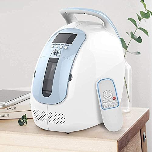 Máquina concentradora de oxígeno de alta concentración de oxígeno Yuwell 93% generador de oxígeno doméstico con un kit de combinación de atomización para la absorción de oxígeno a largo plazo