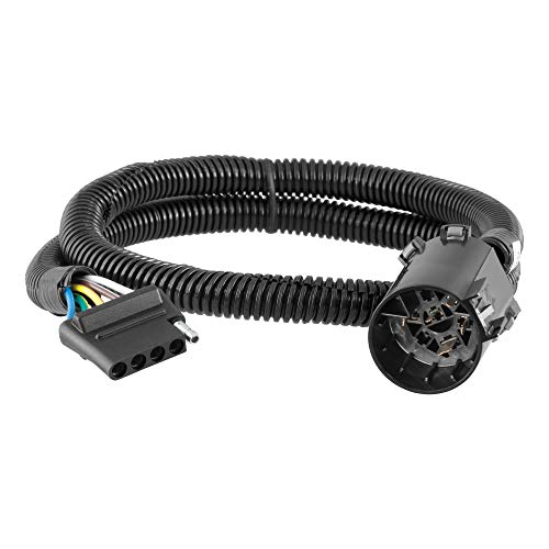 CURT 56515 Replacement Vehicle-Side 5-Pin Connector, Factory Tow Package and USCAR Socket Required