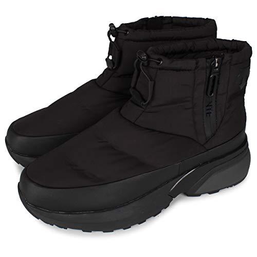 [デサント] ACTIVE WINTER BOOTS SHORT ブーツ ウィンターブーツ ブラック 黒 DM1QJD20BK 27.0cm
