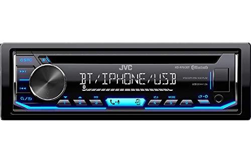 JVC KD-R790BT CD Receiver featuring Bluetooth / USB / Pandora / iHeartRadio / Spotify / FLAC / 13-Band EQ
