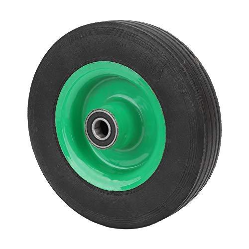 Explosiebestendige banden rubber full wiel 6 inch wiel banden industriële wagen wagen autowagen volledige banden 100 kg