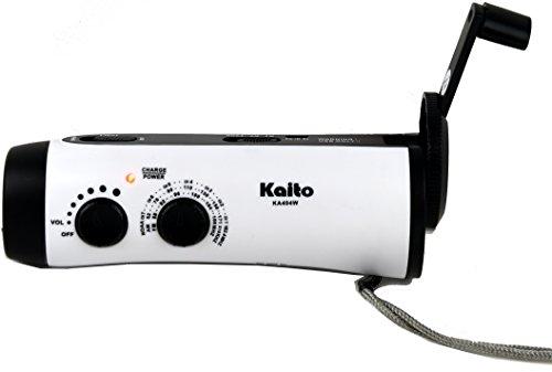 Kaito KA404W Wind-up 5-LED Flashlight...