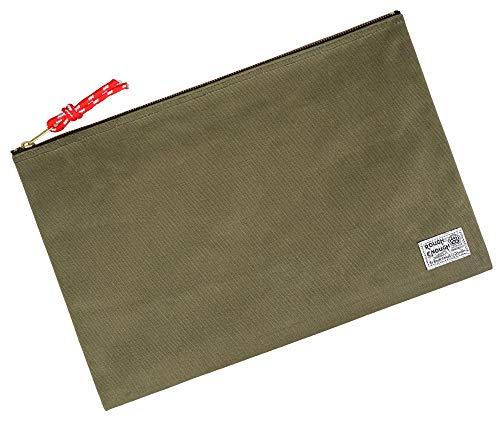 Rough Enough Large File Folder Organizer Document Holder Safe Case Canvas Zipper Pouch Bag for Filing Letter Size Legal A4 Manila Notebooks Papers Art Supplies