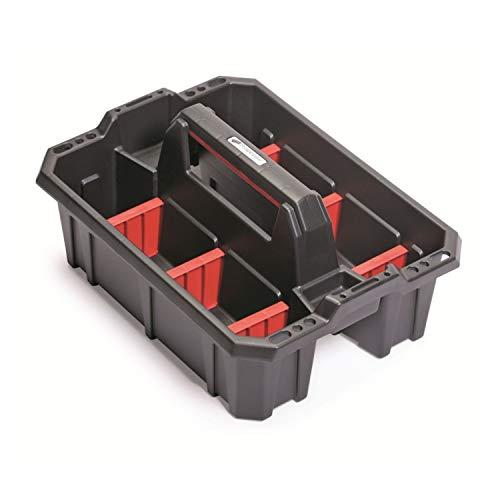 Prosperplast Cargo Plus Werkzeugträger Werkzeughalter Werkzeugkasten (39,5 x 29,5 x 19cm)