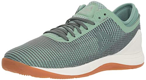 Reebok Crossfit Nano 8.0 Workout Jogger da Donna, (Industrial Green Chalk Grey), 35.5 EU
