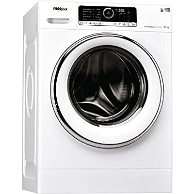 Whirlpool AWG1112/PRO Omnia 11Kg 1200 Spin 6Th Sense Washing Machine In White