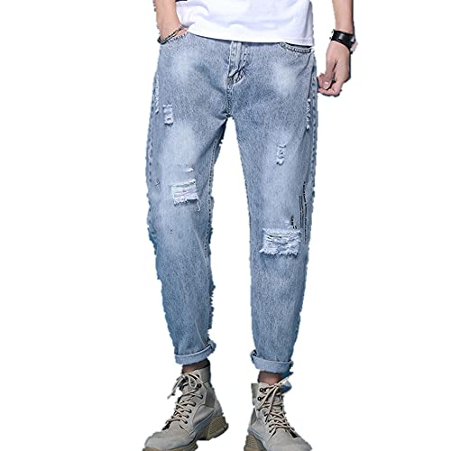 N\P Men's Jeans in Spring and Summer